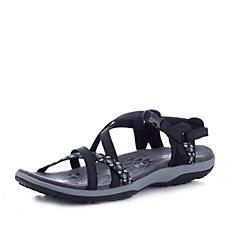 6b3aa8379a3 Skechers Reggae Slim Vacay Strappy Adjustable Slingback Shoe