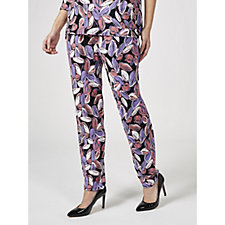 176333 - Antthony Designs Printed Tapered Trousers