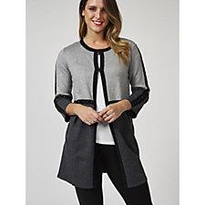 Etoile Colour Block Studded Cardigan
