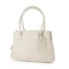 173134 - Ashwood Large Leather Triple Compartment Bag