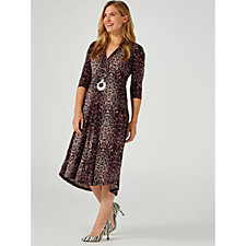 Onjenu London Amy Printed Dress