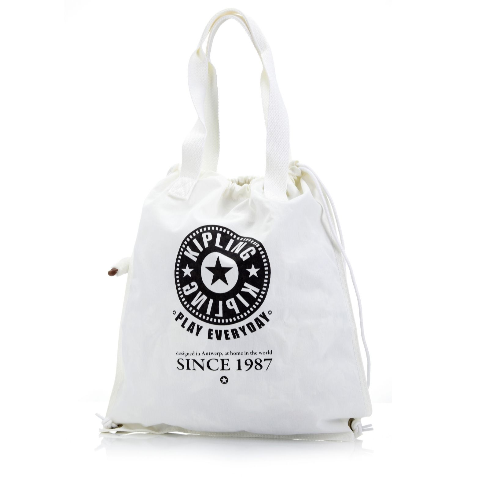 967fd26164 Kipling Hip Hurray Drawstring Bag - Page 1 - QVC UK