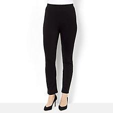 Kim & Co Milano Knit Elastic Waistband Skinny Trousers