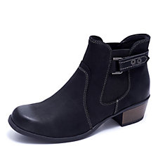 Earth Spirit El Reno Ankle Boot with Buckle Detail