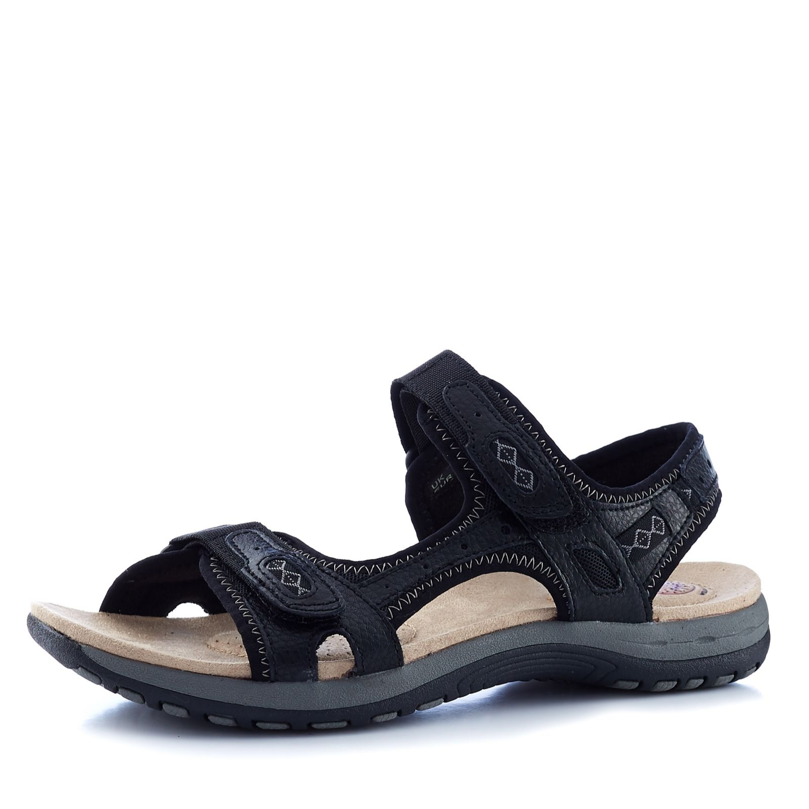 99a618735b8 Earth Spirit Frisco Double Strap Casual Sandal - QVC UK