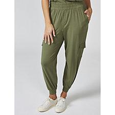 ModernSoul Cozy Knit Cargo Jogger Trousers