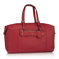 Ashwood Leather Holdall with Double Handles