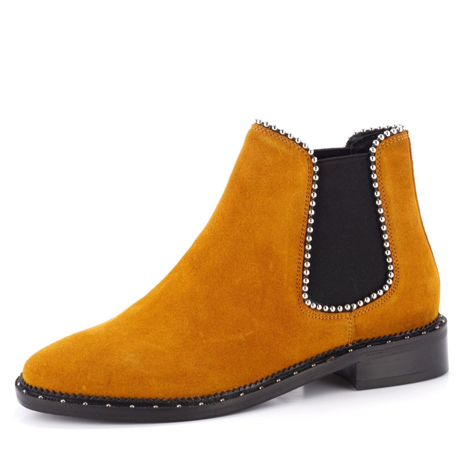 the latest 56cbe 36642 Bronx Studded Chelsea Boot - QVC UK