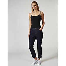 C. Wonder Functional Roll Cuff Crop Jeans Regular