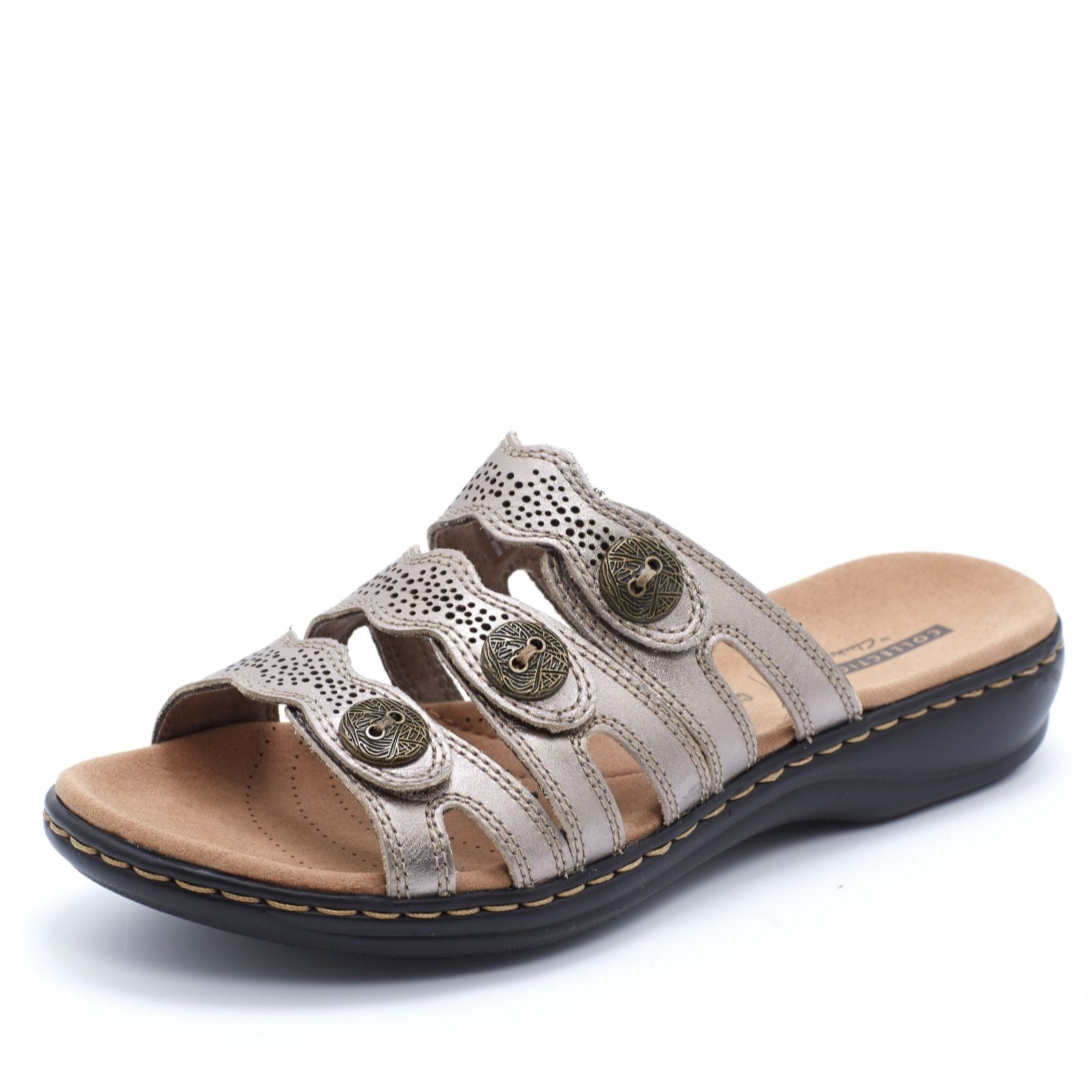 0efb19ae60f9 Clarks Leisa Grace Sandal Standard Fit - QVC UK