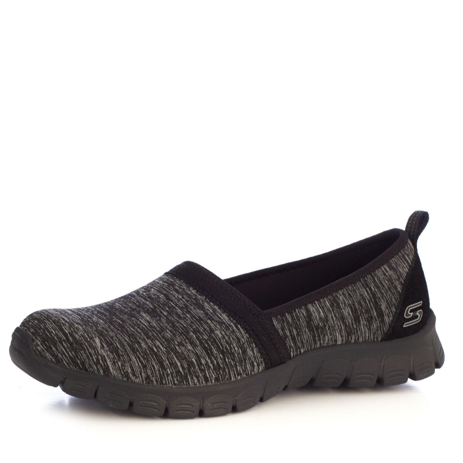 23871203016b Skechers EZ Flex Swift Motion Heathered Jersey Slip On Shoe - QVC UK