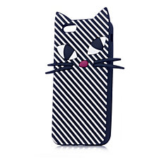 Lulu Guinness Stripe Kooky Cat Case for iPhone 6 and 6S