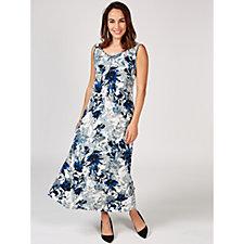 Grace Sleeveless Floral Maxi Dress
