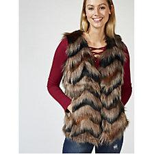 Joe Browns Fab Funky Fur Waistcoat