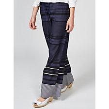 MarlaWynne Drawstring Wide Leg Trousers