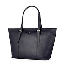 Ashwood Leather Zip Top Shopper Bag