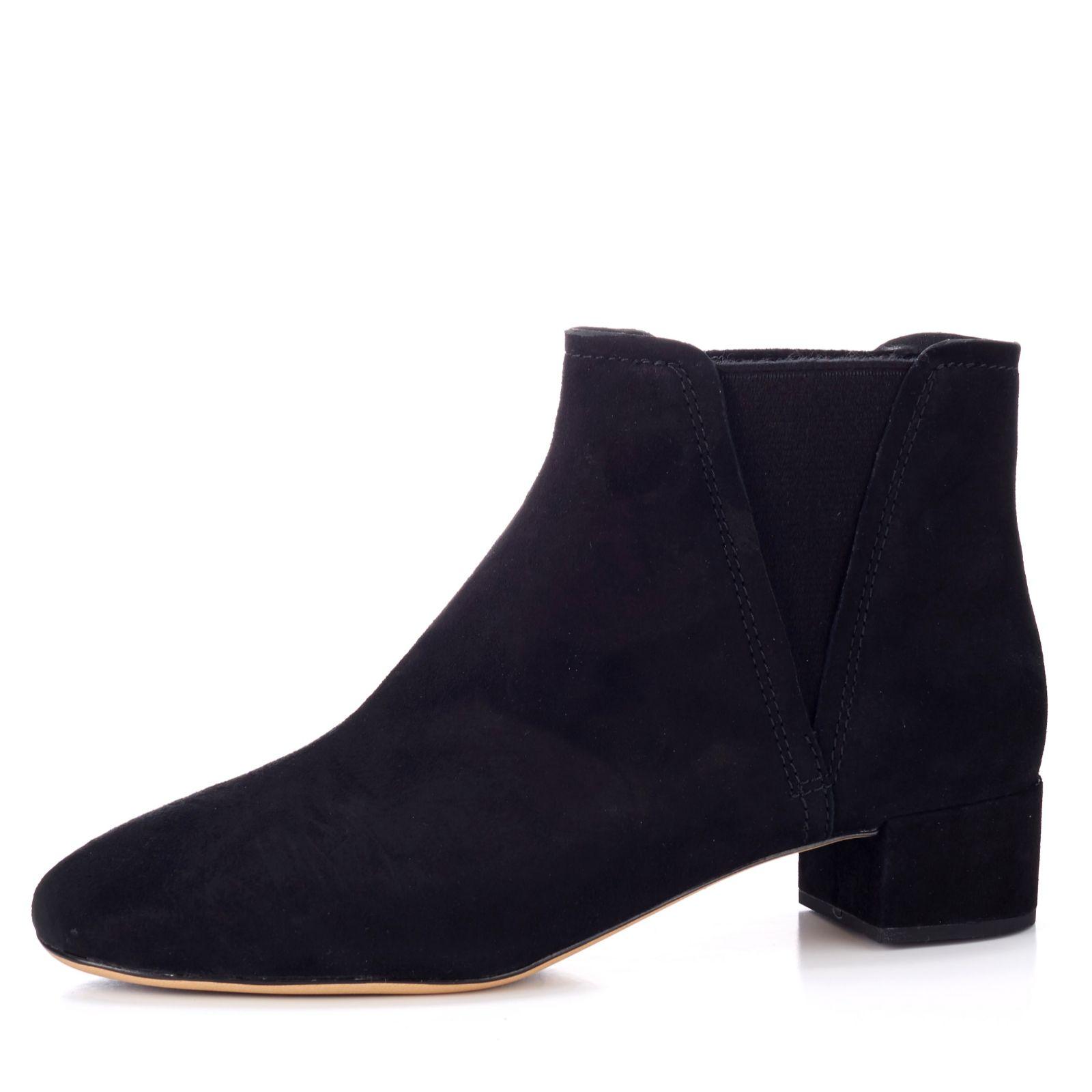 b65e070e1c9 Clarks Orabella Ruby Block Heel Chelsea Boot Standard Fit - QVC UK