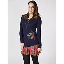 Joe Browns Printed Contrast Hem Tunic