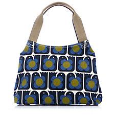 Orla Kiely Love Birds Classic Zip Shoulder Bag