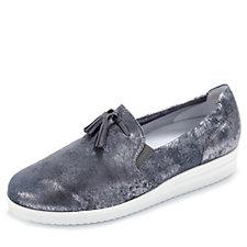 Vitaform Slip On Leather Shoe with Tassel