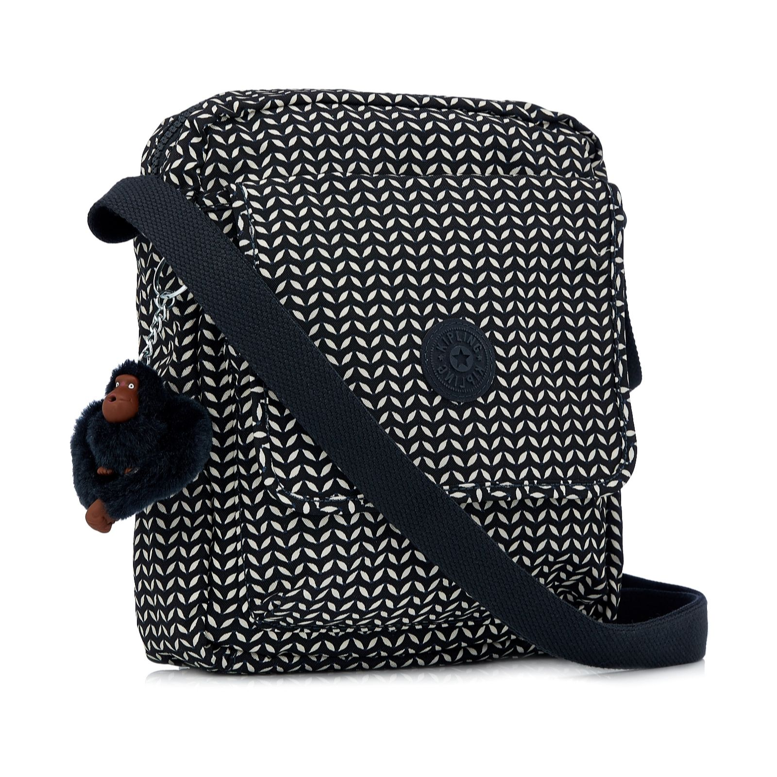 Kipling Osvo Medium Messenger Crossbody Bag Page 1 Qvc Uk