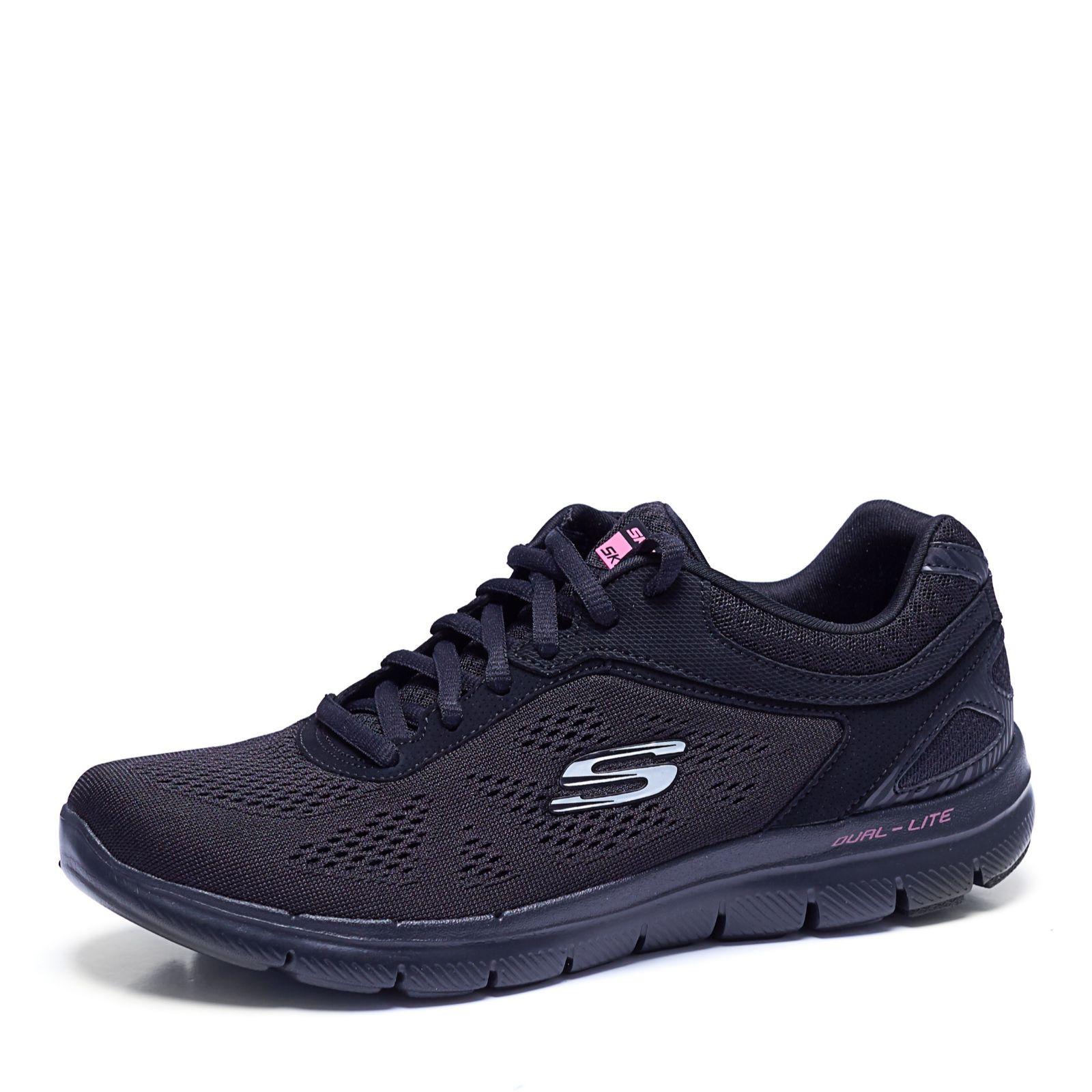 11882127ad6f Skechers Flex Appeal 2.0 Heel Brace Skech Knit Jogger - QVC UK