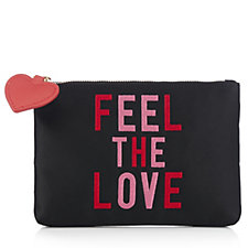 Lulu Guinness Feel The Love Top Zip Pouch