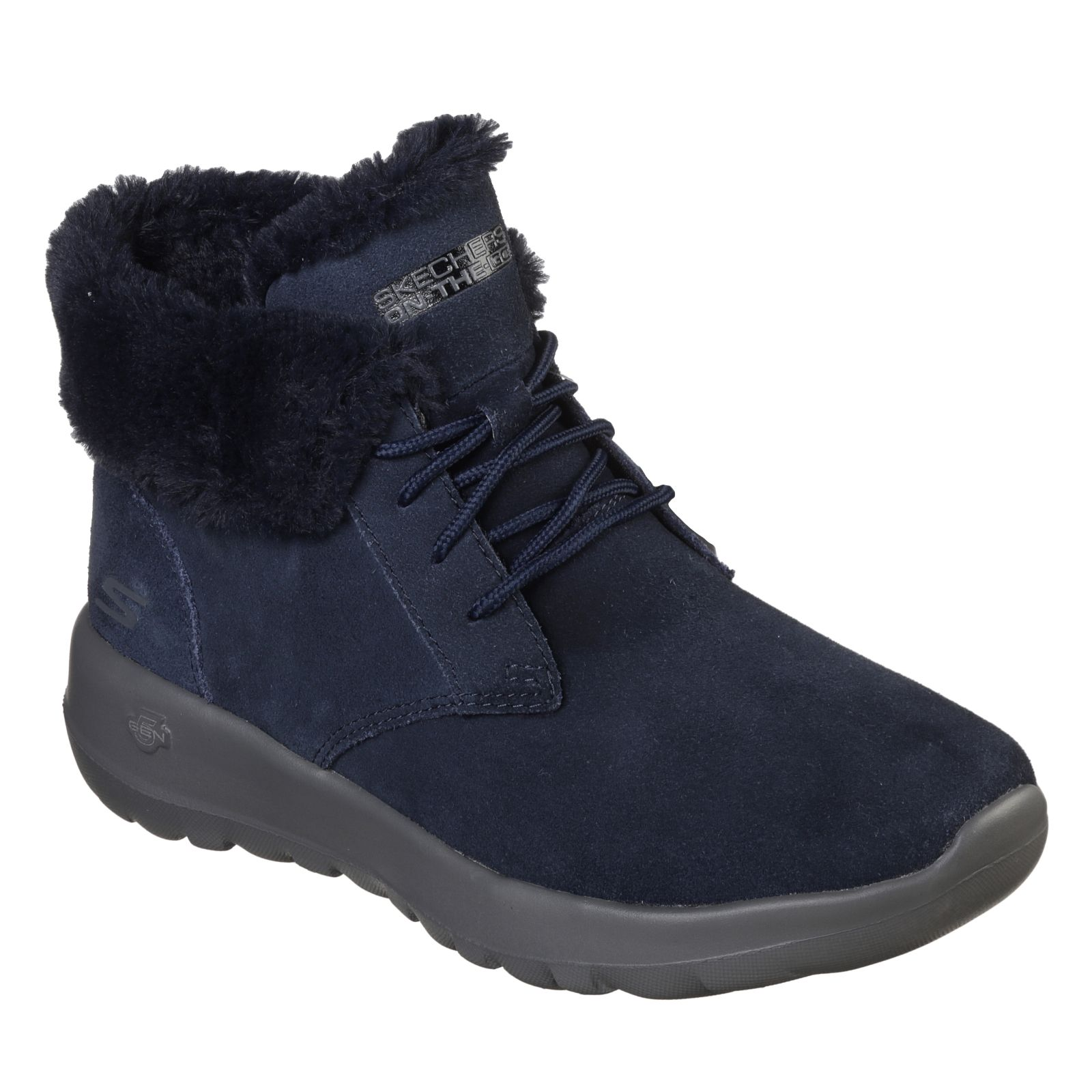 f139d3cc79de Skechers On The Go Joy Lace Up Trainer Boot - QVC UK