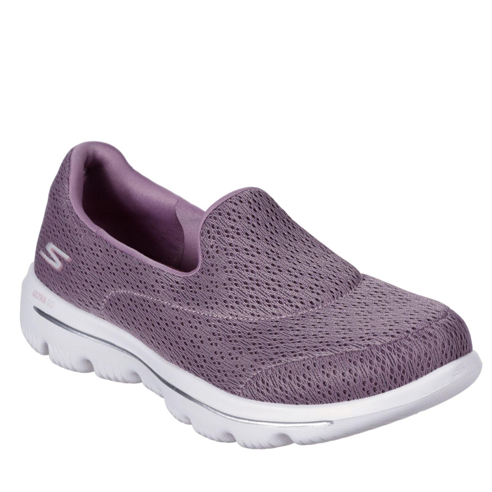 Skechers Go Walk Crochet Slip On Trainer - QVC UK