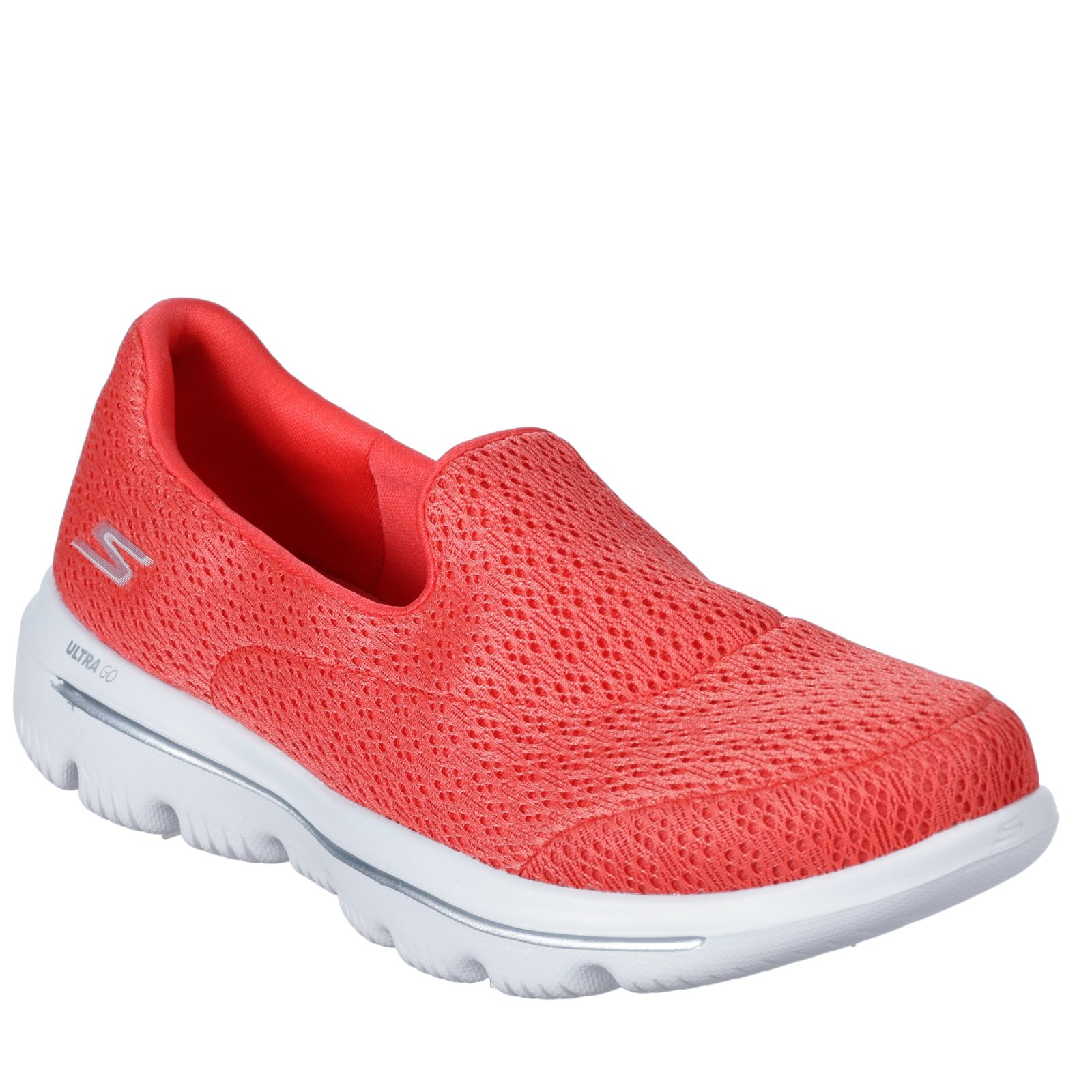 buy online e86e7 934d0 Skechers Go Walk Crochet Slip On Trainer - QVC UK