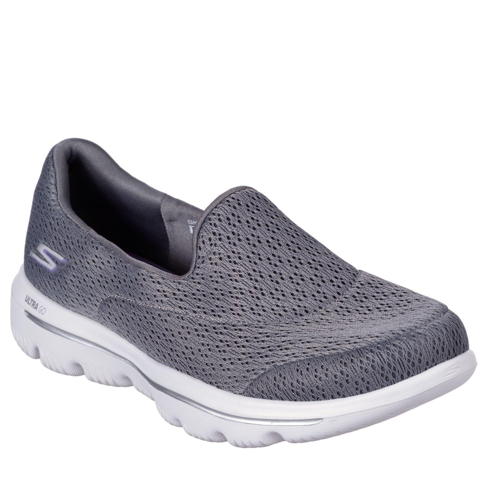 4aa37acf844f Skechers Go Walk Crochet Slip On Trainer - QVC UK