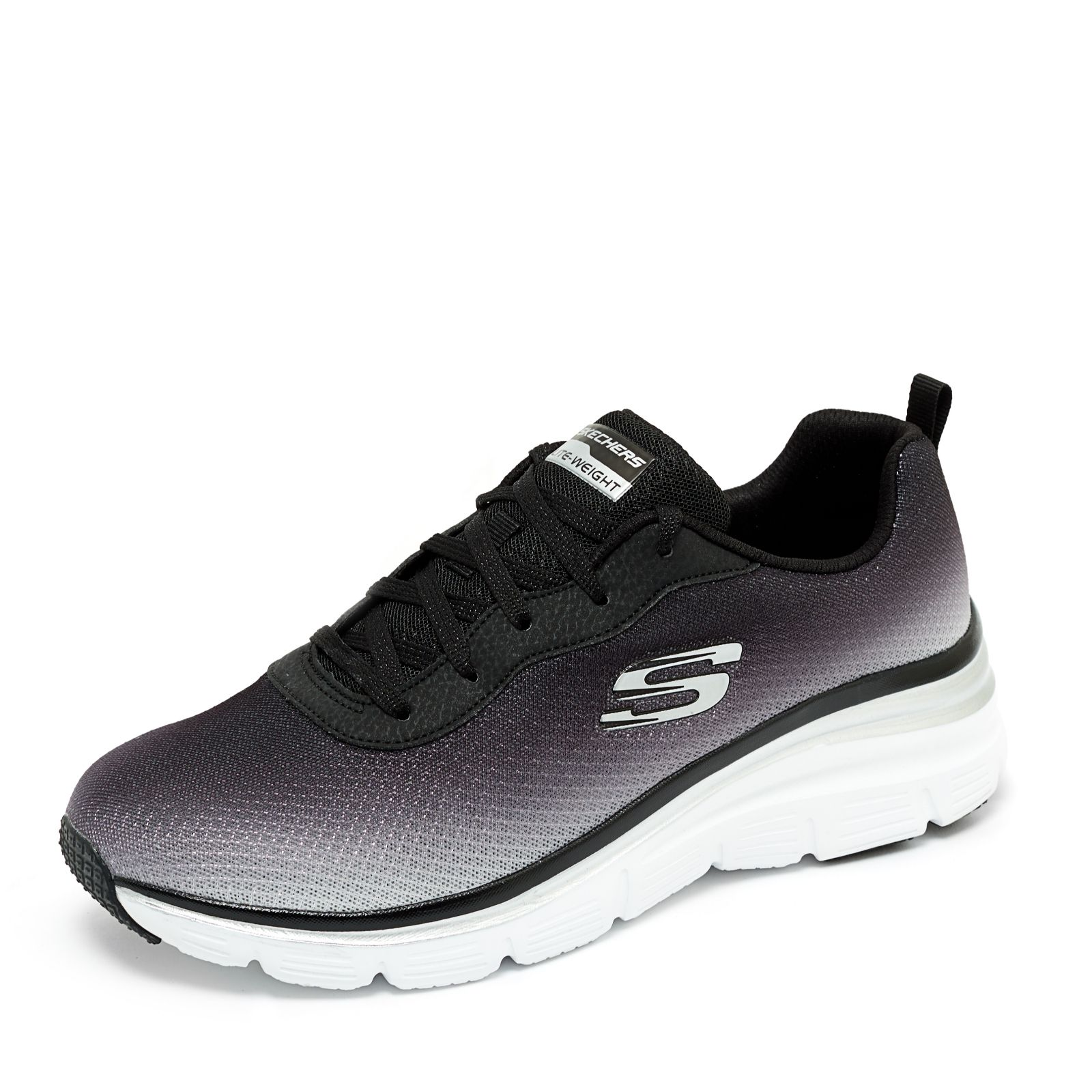 low priced a3050 23272 Skechers Sports Ombre Fashion Chunky Lace Up Trainer - QVC UK