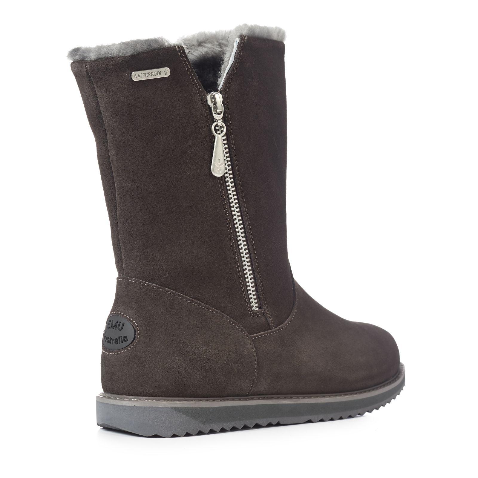 6924ac5147c Emu All Weather Gravelly Waterproof Sheepskin Boot - QVC UK