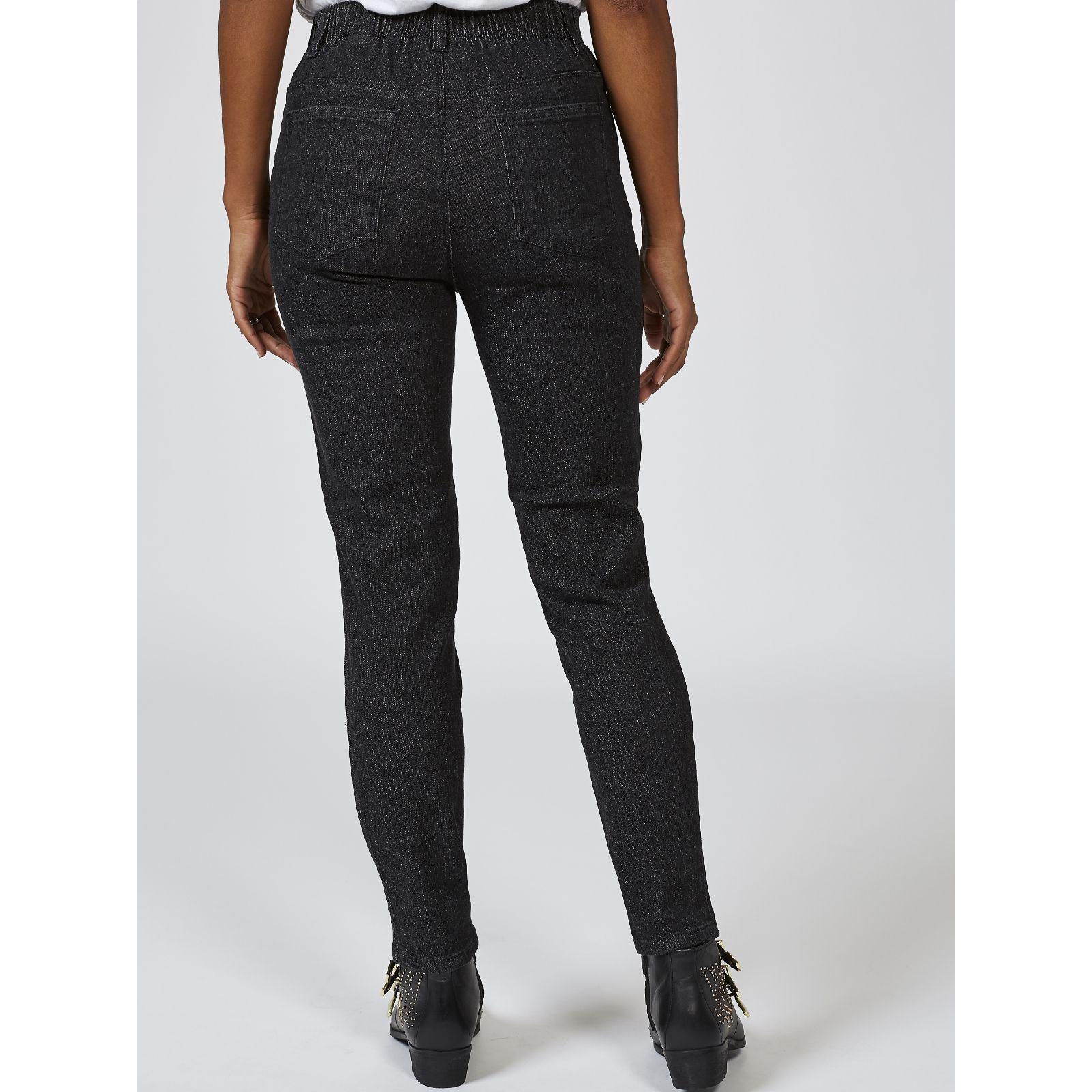 ed26ec2c8 Denim & Co. Classic Waist Stretch Skinny Jeans Regular - QVC UK