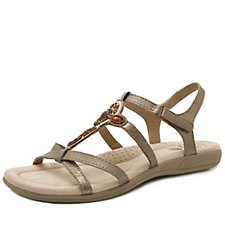 Earth Spirit Cape Coral Leather Embellished Sandal