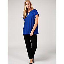 Together Top with Flutter Sleeves
