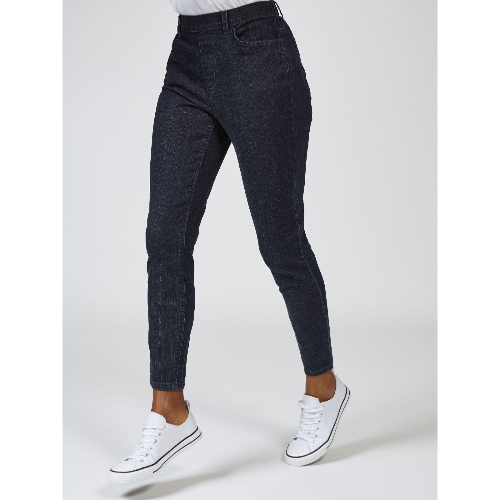 bab5e96cf42 Denim   Co. Classic Waist Stretch Skinny Jeans Petite - QVC UK