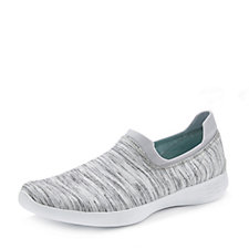 Skechers YOU Define Grace Lightweight Heather Knit Slip On Shoe