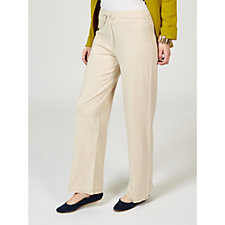 MarlaWynne Jersey Lounge Trousers with Drawstring