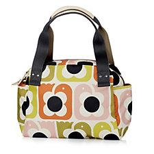 Orla Kiely Love Birds Two Way Zip Handbag