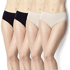 Vercella Vita Medium Control Plain Briefs Pack of 4