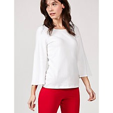 Women with Control Bell Sleeve Top