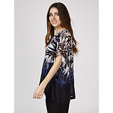 Phase Eight Lizzy Fern Leaf Print Blouse
