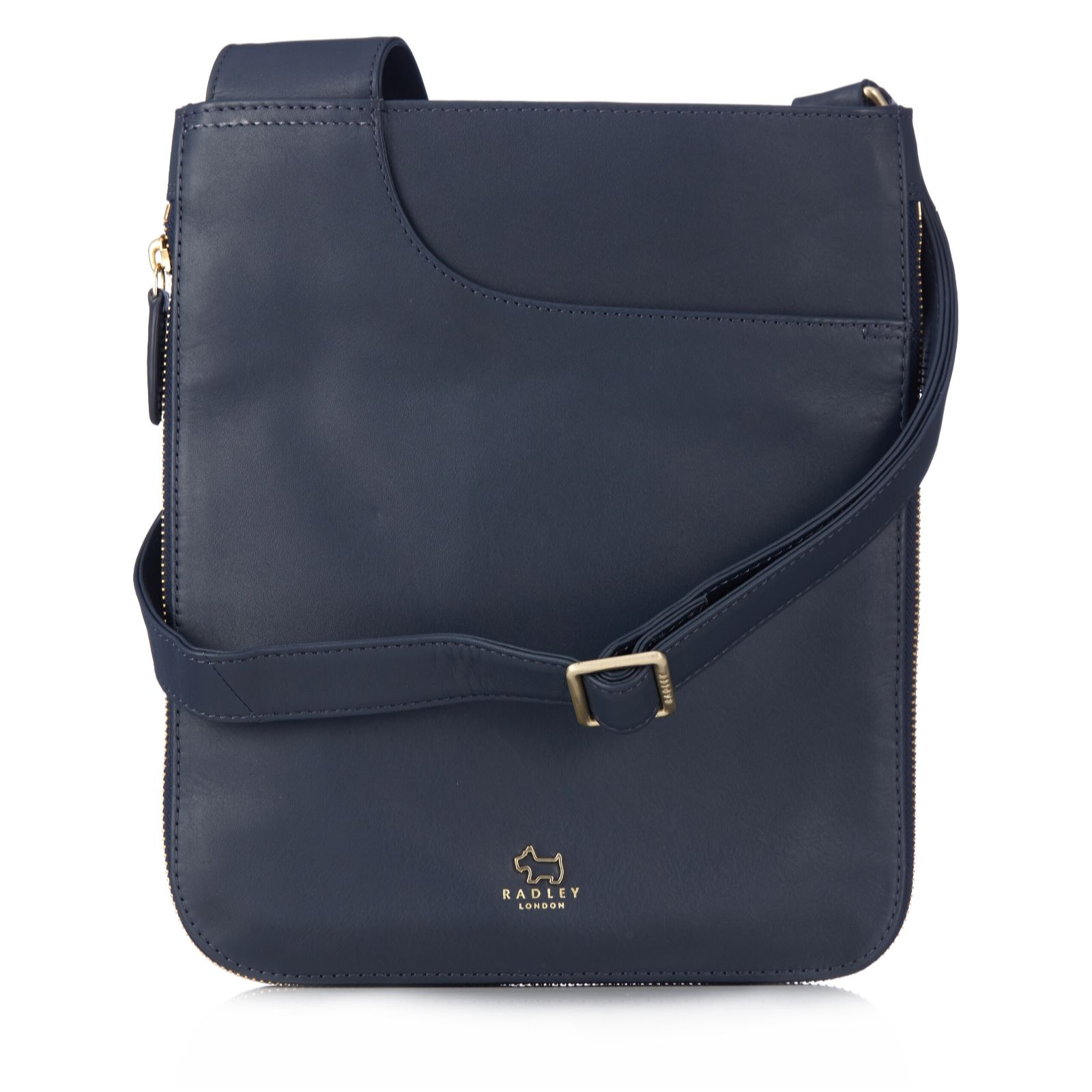 Radley London Pockets Medium Leather Zip Top Crossbody Bag - QVC UK 8e03675f314d1