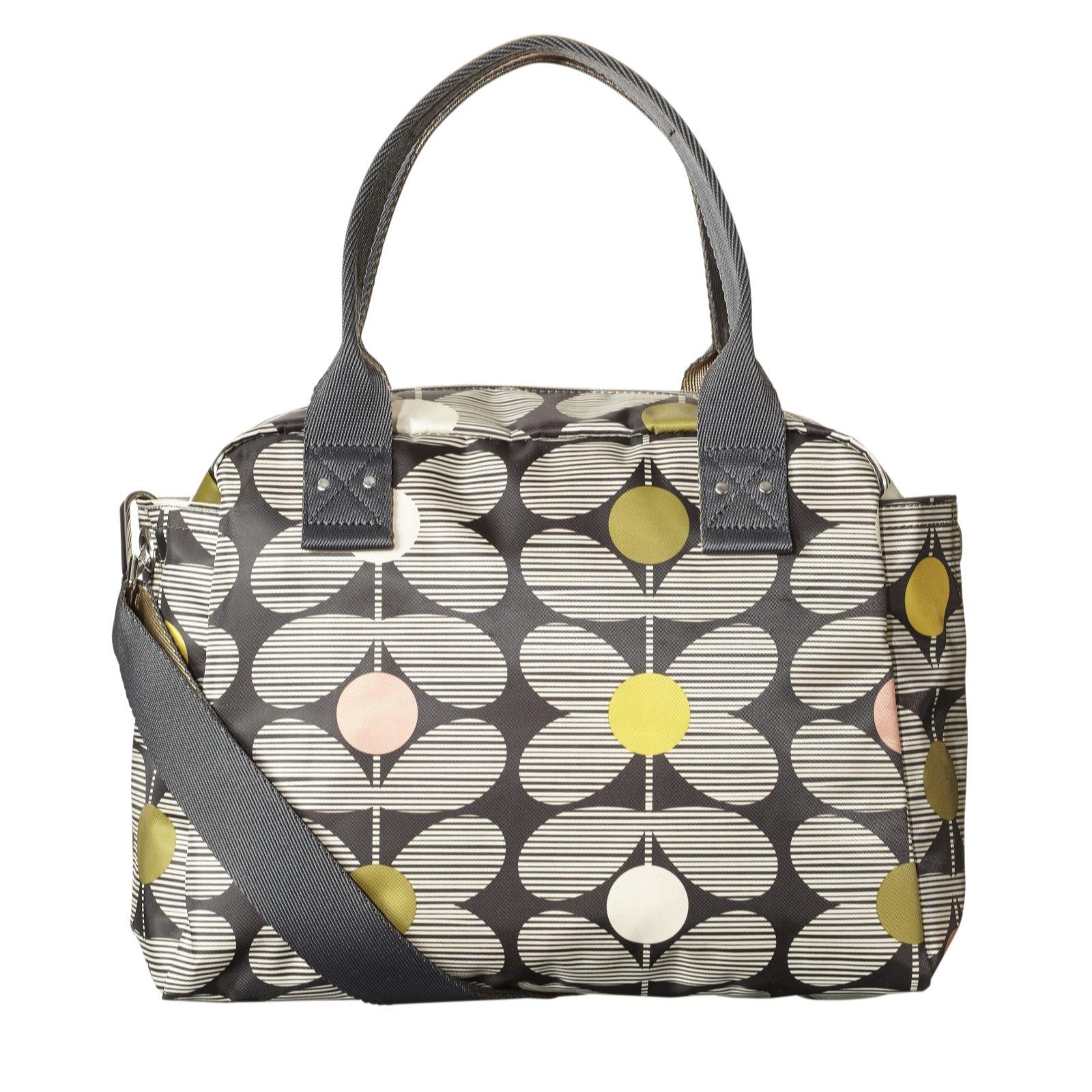 Orla Kiely Zip Top Handbag with Detachable Strap - Page 1 - QVC UK