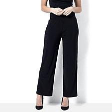 Petite Straight Leg Jersey Trouser by Nina Leonard