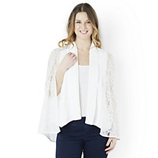 Outlet Andrew Yu Waistcoat with Detachable Lace Cape