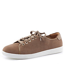 Vionic Orthotic Sunny Brinley Lace Up Suede Casual Shoe with FMT Technology