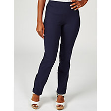 Women with Control Pull On Trouser with Adjustable Hem