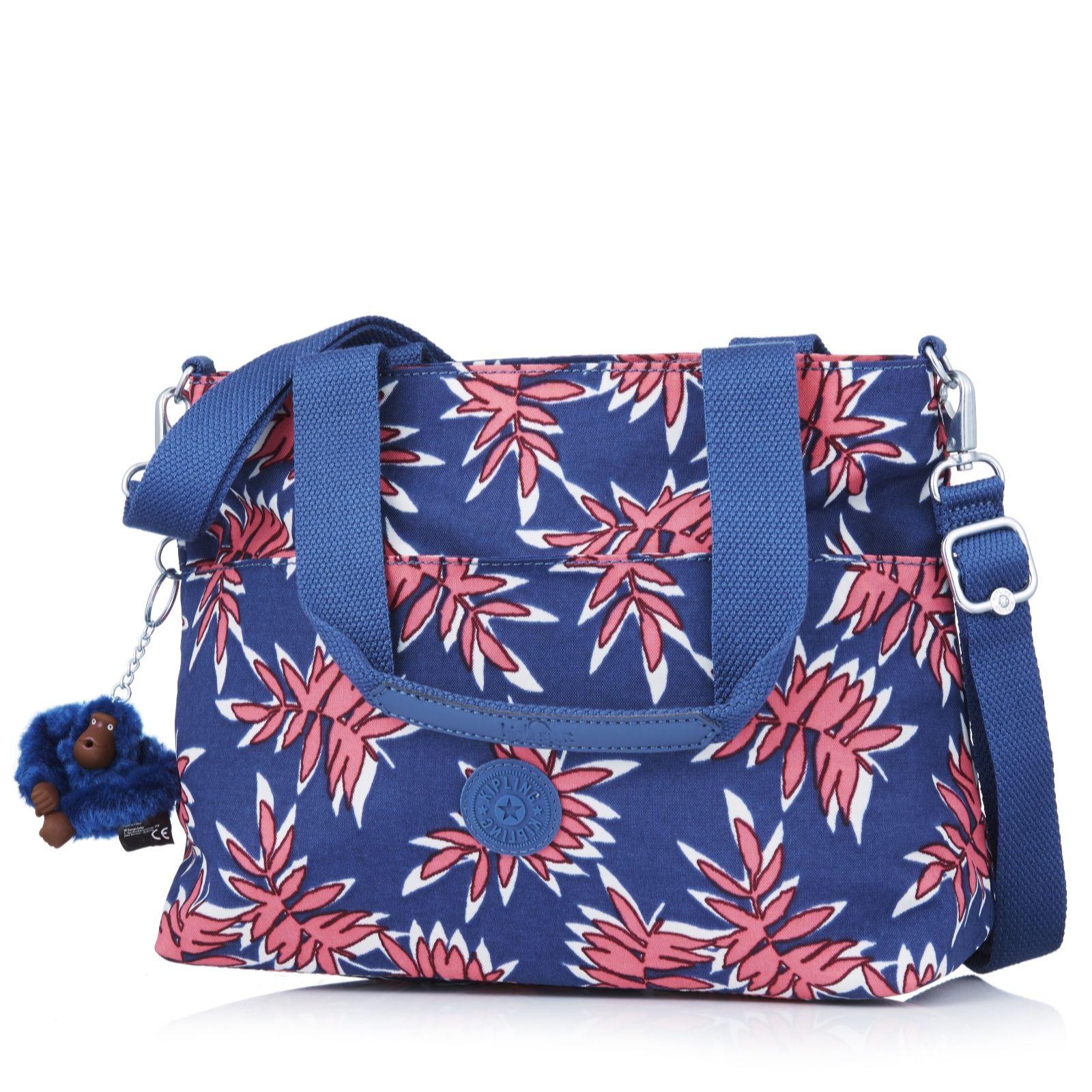 Kipling Marina Medium Double Handle Bag With Adjustable Shoulder